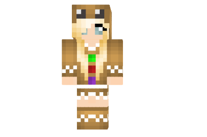 http://img2.azminecraft.info/Skins/Gingerbread-girl-skin.png